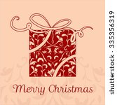 beautiful calligraphic...   Shutterstock .eps vector #335356319