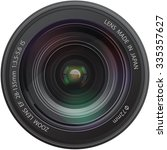 camera realistic lens | Shutterstock .eps vector #335357627