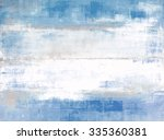 blue and grey abstract art... | Shutterstock . vector #335360381