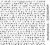 abstract black polka dots on...   Shutterstock .eps vector #335366909