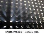 light panel beams through fog | Shutterstock . vector #33537406