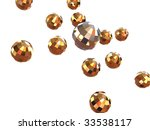 three dimensional graphic image.... | Shutterstock . vector #33538117