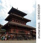 bhaktapur  nepal  october 19 ... | Shutterstock . vector #335400269