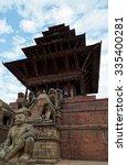 bhaktapur  nepal  october 19 ... | Shutterstock . vector #335400281