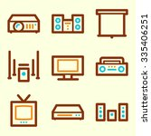 arrows web icons | Shutterstock .eps vector #335406251