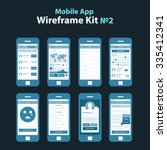 mobile app wireframe ui kit 2....