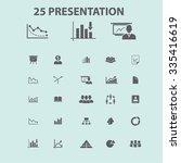 presentation  chart  diagram ... | Shutterstock .eps vector #335416619