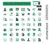 online marketing  digital...   Shutterstock .eps vector #335420351