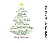 Merry Christmas Word Cloud...
