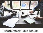 Businessmen Partnership Team...