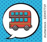 bus doodle  speech bubble   Shutterstock .eps vector #335457719