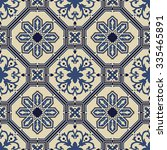 portuguese style vector pattern ...