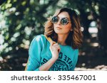close up lifestyle fashion... | Shutterstock . vector #335467001