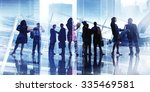 business people discussion... | Shutterstock . vector #335469581