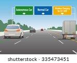 highway sign illustration ... | Shutterstock .eps vector #335473451