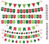 Christmas Vector Decoration Set