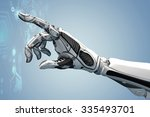 futuristic design concept. a... | Shutterstock . vector #335493701