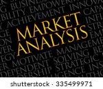 market analysis word cloud ... | Shutterstock .eps vector #335499971