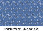 tileable recurring sinuous warp ... | Shutterstock .eps vector #335504555