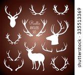 Rustic Antlers Set  ...