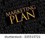 marketing plan word cloud