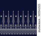 geometric ethnic pattern design ... | Shutterstock .eps vector #335541521