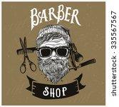 hairdresser vector illustration ... | Shutterstock .eps vector #335567567
