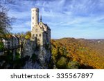 lichtenstein castle  germany | Shutterstock . vector #335567897