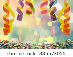 Colorful Paper Streamer Hangin...