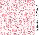 seamless pattern background... | Shutterstock .eps vector #335584181