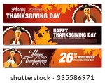 Thanksgiving Day Sale Banners