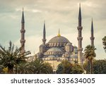 Blue Mosque In Istanbul  ...