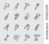 tools line icon | Shutterstock .eps vector #335651105