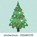 fir tree | Shutterstock .eps vector #335689199