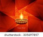 religious red color happy... | Shutterstock .eps vector #335697857