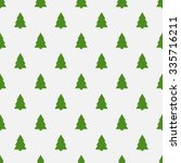 geometric monochrome seamless... | Shutterstock .eps vector #335716211