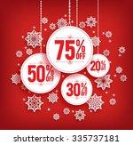 Christmas Sale Discount Hangin...