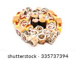 japanese food   sushi. | Shutterstock . vector #335737394