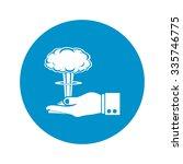 explosion icon.   Shutterstock .eps vector #335746775