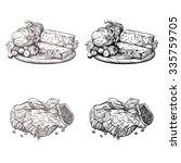 cooking vector illustration in... | Shutterstock .eps vector #335759705