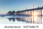 Huntington Beach Pier Faded