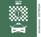 taxi icons  vector illustration | Shutterstock .eps vector #335789264