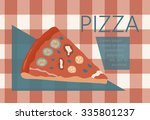 fast food vector illustration... | Shutterstock .eps vector #335801237