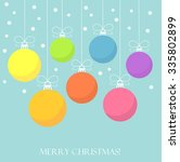 Christmas Baubles Background....
