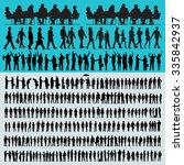 vector business people... | Shutterstock .eps vector #335842937