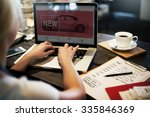 new innovation technology car...   Shutterstock . vector #335846369