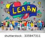 kids school education learn... | Shutterstock . vector #335847311