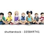 children kids happiness... | Shutterstock . vector #335849741
