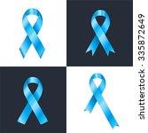 prostate cancer ribbon... | Shutterstock .eps vector #335872649