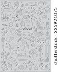 children school pattern | Shutterstock .eps vector #335921075